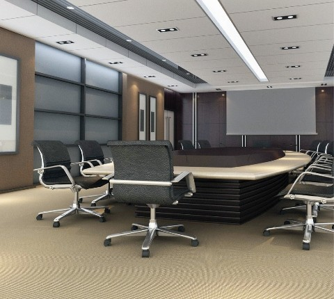 Clean business office in Orange County, CA