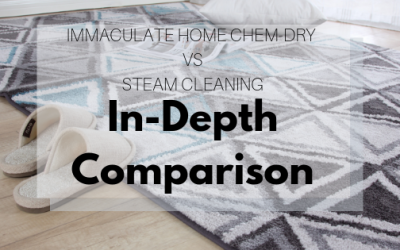 Immaculate Home Chem-Dry Vs. Steam Cleaning: In-Depth Comparison