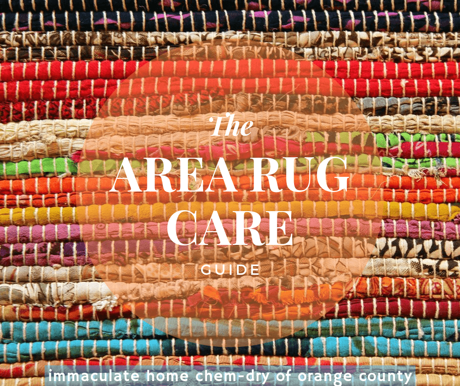 area rug care guide