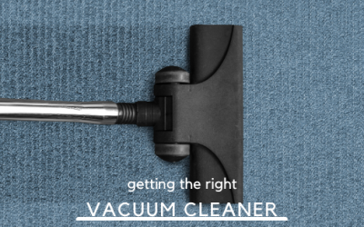 Getting The Right Vacuum Cleaner