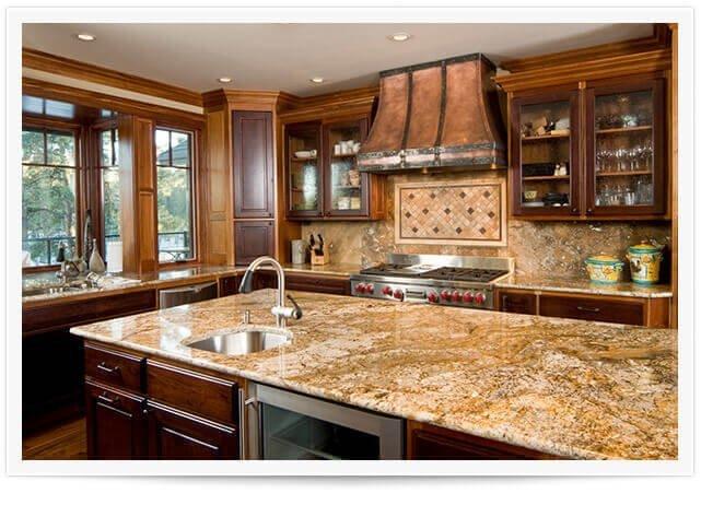 granite countertops in south bay home