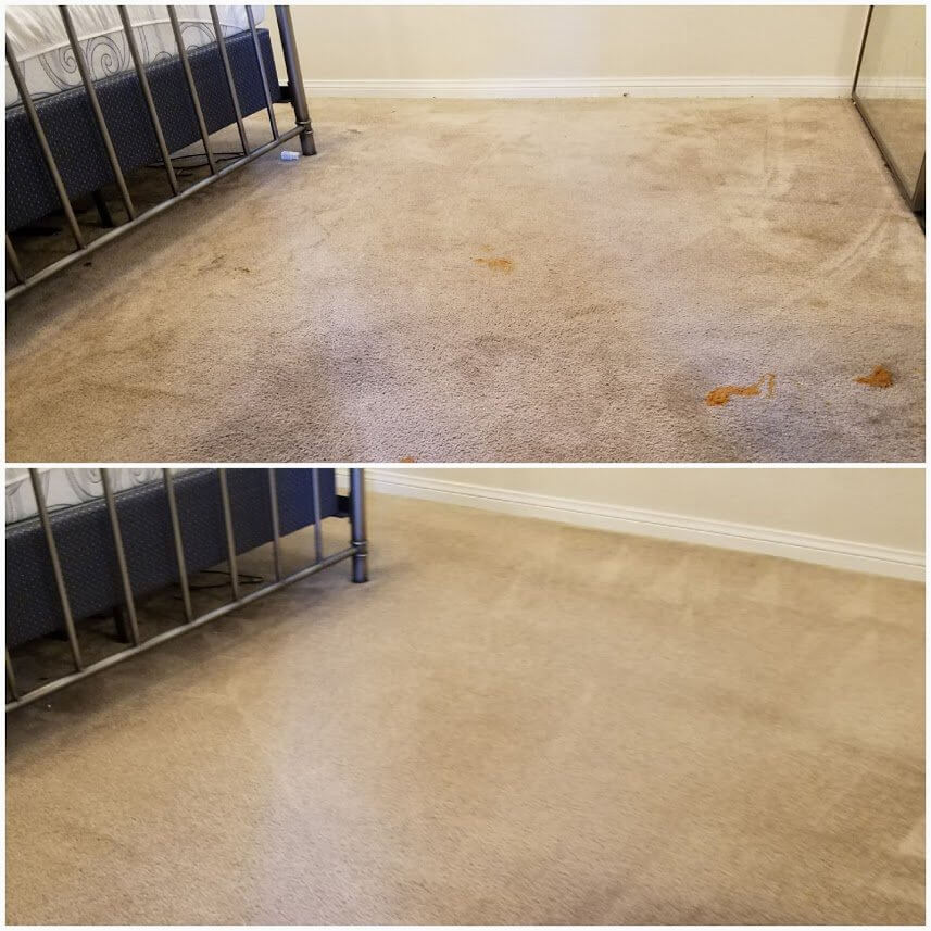 before and after carpet cleaning torrance ca