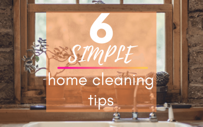 Six Simple Home Cleaning Tips
