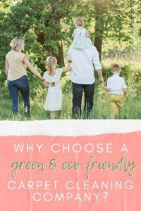 why choose a green and eco-friendly carpet cleaning company
