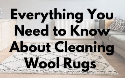Everything You Need to Know About Cleaning Wool Rugs
